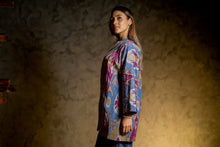 Load image into Gallery viewer, HANDWOVEN ORIENTAL IKAT JACKET