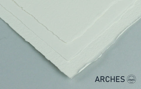 Arches Traditional White Single Sheet Watercolour Paper