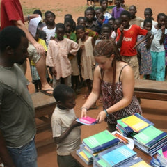 Clairefontaine supports education
