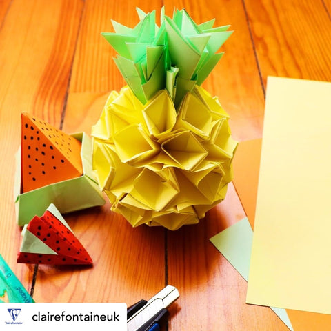 Clairefontaine has a great selection of origami and craft papers