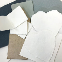 Deckle Edge Paper can be used for arts and crafts projects