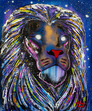 Load image into Gallery viewer, PRINT: Polaris  / Cosmic Lion