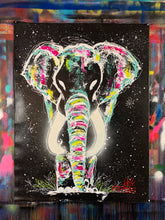 Load image into Gallery viewer, Be still / signature elephant  / black