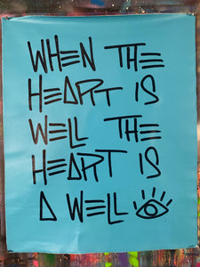 Heart is well / mantra