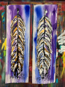 Amazing things / signature feather design