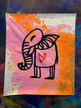 Load image into Gallery viewer, Cave Elephant#5/Multicolor Dyed/2021