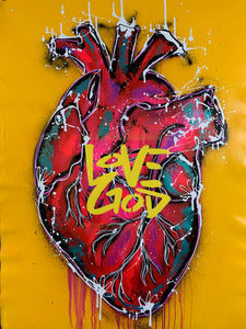 Love God / yellow