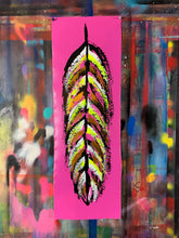 Load image into Gallery viewer, Go fly / signature feather / cosmic pink