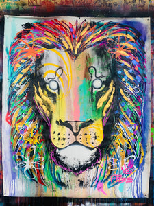 Amazing things / lion