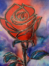 Load image into Gallery viewer, Love the way you live / cosmic rose