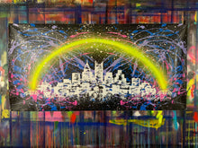 Load image into Gallery viewer, Love the way you live / signature skyline 2 / cosmic splash