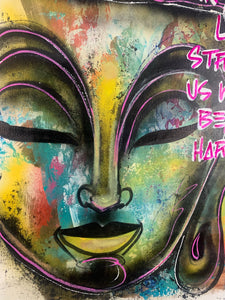 Strengthened not hardened / Buddha / 2021