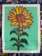 Load image into Gallery viewer, Made to bloom / mint sunflower