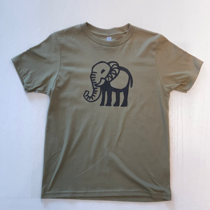 Green Cave Elephant T-Shirt