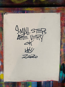 Small steps / signature cave elephant