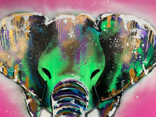 Load image into Gallery viewer, Transformation moments / cosmic pink elephant