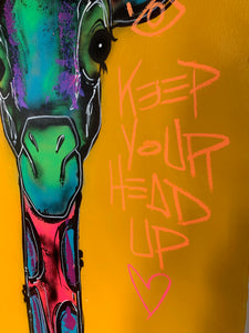 Keep your Head up / XL yellow