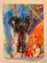 Load image into Gallery viewer, Signature Elephant #13/Fall in Love/2021