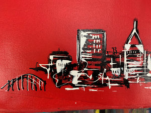 Simple little skyline / classic red