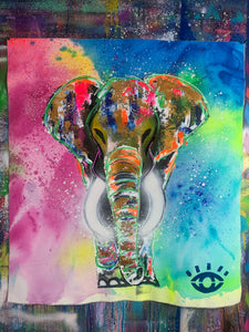 Being alive  / signature elephant / 2021