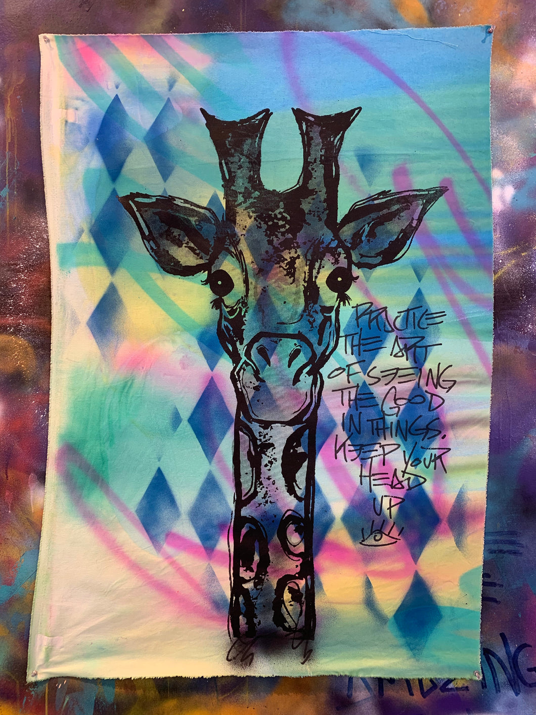 Diamond Giraffe #4/Good in Things/2021