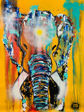 Load image into Gallery viewer, Morning Sun elephant