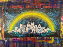 Load image into Gallery viewer, Love the way you live / signature skyline 5 / cosmic splash