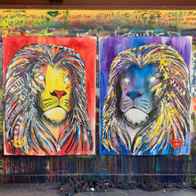Load image into Gallery viewer, Live boldly/ lion collection of two