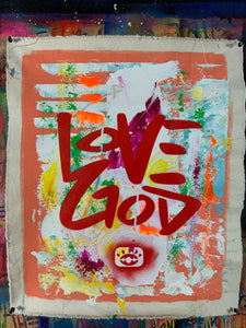 Love God / abstract