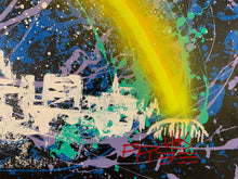 Load image into Gallery viewer, Love the way you live / signature skyline 4 / cosmic splash