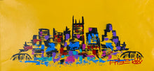 Load image into Gallery viewer, Love the way you live / yellow skyline