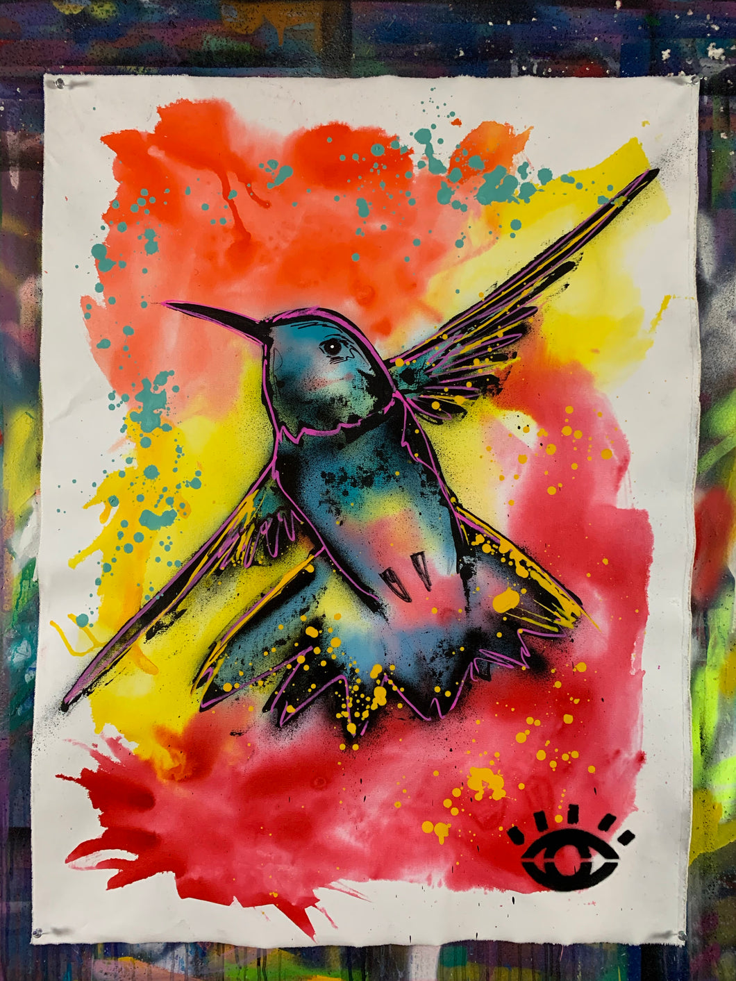 The Gifting / signature hummingbird