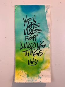 Amazing Things/Blue-Green Wash/2021