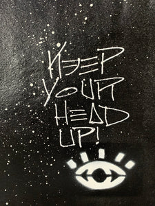 Keep your head up / cosmic black giraffe