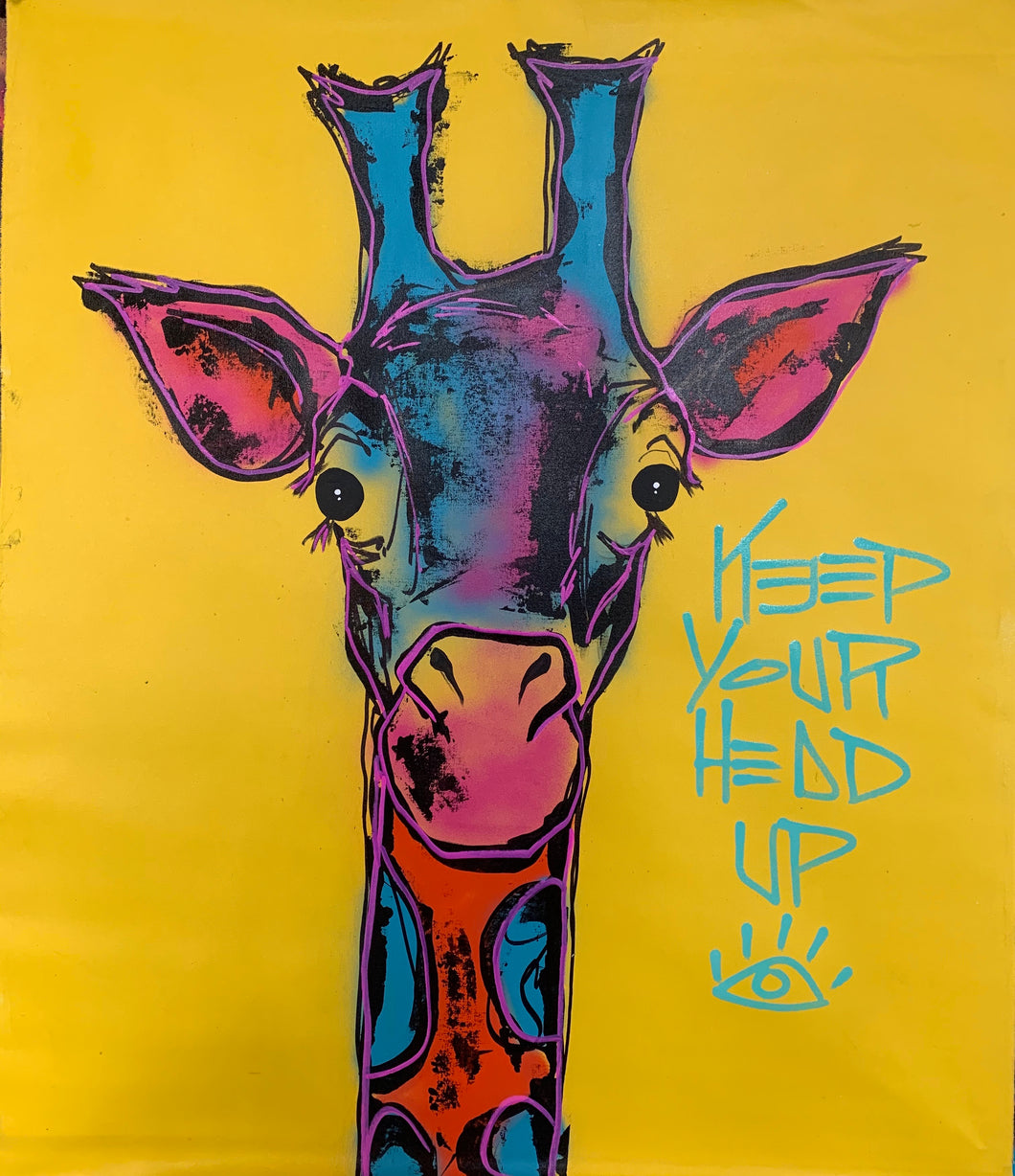 Keep your head up / yellow