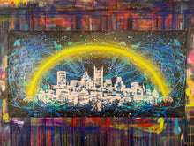 Load image into Gallery viewer, Love the way you live / signature skyline 5/ cosmic splash