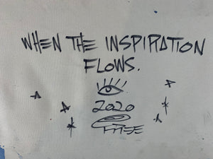 When the inspiration flows