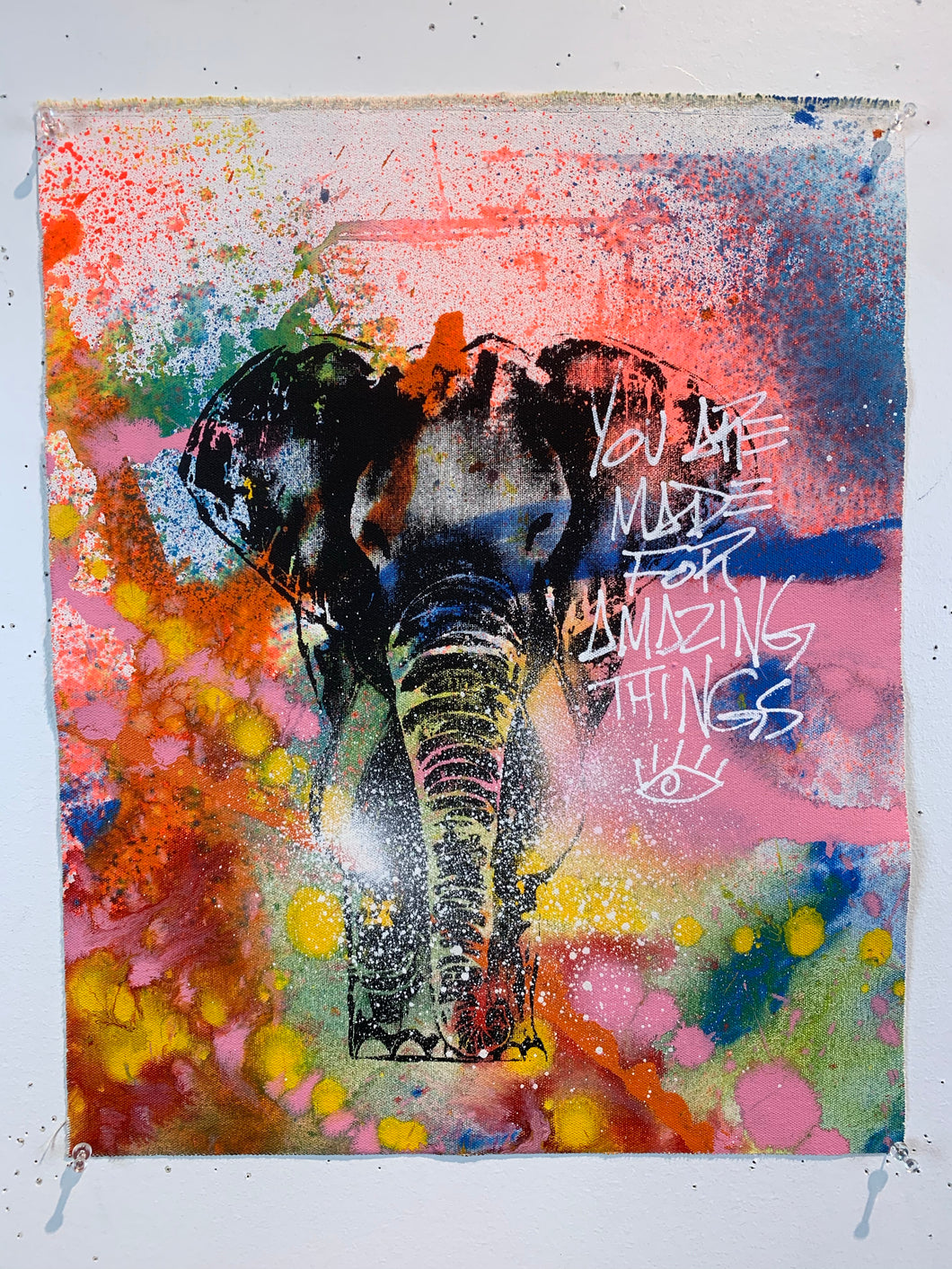 Signature Elephant #7/Amazing Things/2021