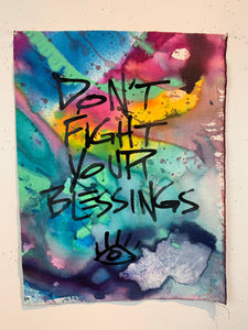 Don't Fight Your Blessings #3/Multicolor/ 2021