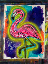 Load image into Gallery viewer, Stay balanced  / flamingo
