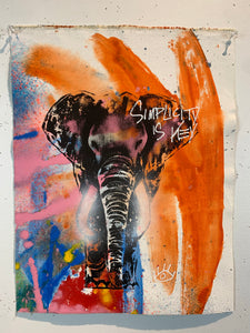 Signature Elephant #8/Simplicity is Key/2021