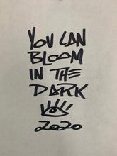 Load image into Gallery viewer, PRINT: Bloom in the dark / Black elephant