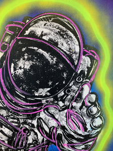 Highest Good/Cosmic Neon Astronaut/2021