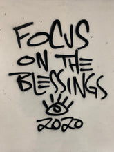 Load image into Gallery viewer, Focus on the blessings/ amazing things signature elephant