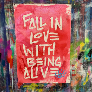 Being alive / the good in things / 2021