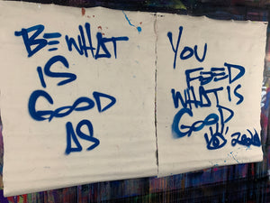 Be what is good / collection of two