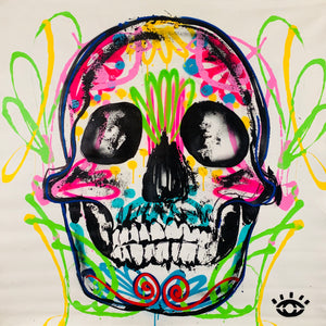 Made to bloom / sugar skull 1