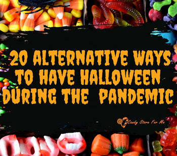 Halloween Candy during COVID-19: 20 Alternative Ways to Have Fun