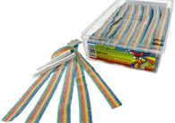 Quattro Rainbow Sour Belts 150ct Tub-online-candy-store-11877