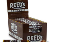 Iconic Reed's Root Beer Hard Candy Rolls 24ct